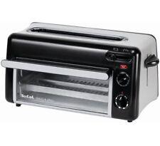 Tefal TOAST N'GRILL TL6008, Toaster und Ofen (schwarz/silber)