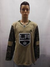 Los Angeles Kings Camo Military Jersey Adidas Mens 54 NHL