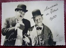 Carte Postale LOUREL & HARTY ( pastiche de LAUREL & HARDY ) Tour de France 1950