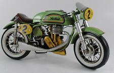 1962 500cc Manx Norton Tin Plate Model Detailed Handcrafted Home Decoration Deal
