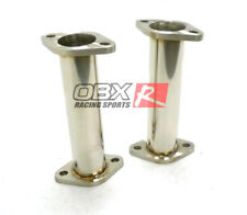 OBX Stainless Steel Resonated Test Pipe For 2010-2016 Hyundai Genesis Coupe 3.8L
