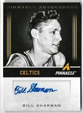 BILL SHARMAN 2013 PINNACLE AUTO AUTOGRAPH CELTICS CARD!