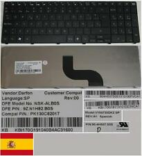 CLAVIER QWERTY ESPAGNOL PACKARBELL TM81 TM94 NSK-ALB0S V104730DK2 KB.I170G.191