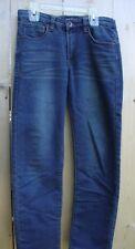 Boys Size 12 Lucky Brand adjustable waist Billy straight leg blue jeans