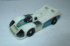 1983 GoBots Crasher White Race Car Figure Mr-20 Tonka GoBot Bandai Unbranded