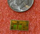 Vintage Intel 80486DX2 CPU die: Dies were miscut and never packaged.