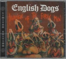 ENGLISH DOGS -INVASION OF THE PORKY MEN/MAD PUNX -(still sealed cd)- AHOY CD 48