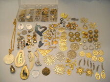 Mixed Lot Jewelry Making ~ Pendants / Charms / Embellishments / Findings