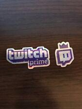 Pax East 2018 Twitch Prime Exclusive Foil Sticker Set