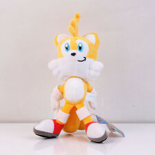 Sonic The Hedgehog Tails SEGA Soft Plush Figure Doll Toy 8 inch Collectible US