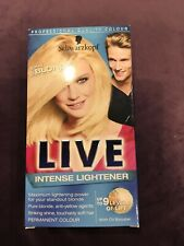 Live Professional Quality Colour Schwarzkopf 00B Max Blonde Intense Lightener