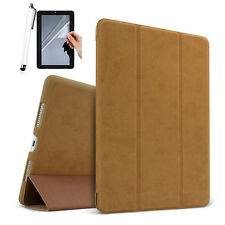 """For iPad 2018 6th Generation 9.7"""" Case Magnetic Stand Smart Suede Leather Cover"""