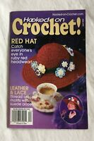 Hooked on Crochet Magazine Digest April 2004 - Issue 104 - Red Hat Leather Lace