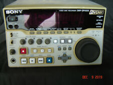 SONY DSR-DR1000 DVCAM Video Disk Editing Deck Player / Recorder