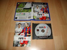 FIFA 11 2011 DE EA SPORTS PARA LA SONY PS2 USADO COMPLETO
