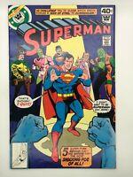 SUPERMAN #337 DC 1979 BRONZE AGE COMIC TOO MANY CROOKS!