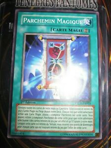 YU-GI-OH! COMMUNE PARCHEMIN MAGIQUE PTDN-FR050 FRANCAIS EDITION 1 NEUF