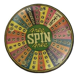 Wheel Of Fortune Game Show Free Spin Magnet Money Wedges Multicolor