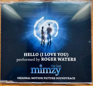 Roger Waters - PROMO CD - Hello  (I  Love  You) - MEGARARE!!!