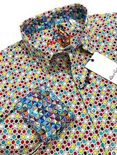 Robert Graham Long Sleeve Geometric Colorful Sport Shirt $198
