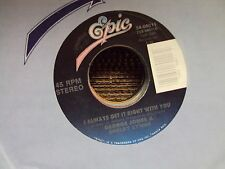 """GEORGE JONES & SHELBY LYNNE I Always Get It Right With You 7"""" 45 mid-80'scountry"""