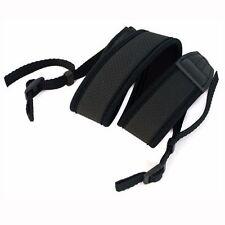Black Neoprene Neck Shoulder Strap for Camera Binoculars Nikon Canon Sony Pentax