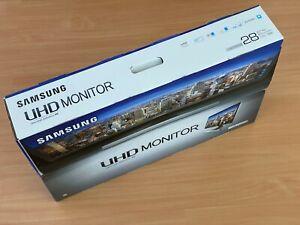 "Samsung - UE590 Series 28"" LED 4K UHD LED-Lit 60Hz Monitor FreeSync, 1ms"