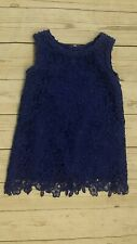 Kate Spade 18 Month Girl Blue Lace Sleeveless Dress Nordstrom