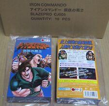 Hierro Commando Muñecos no Senshi Steel Warrior Super Famicom versión 2017 * Nuevo