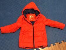 Gr.116 - 122 TOM TAILOR Winterjacke Junge - Orange, guter Zustand