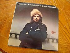 COUNTRY JOE MCDONALD PARIS SESSIONS 1973 LP VANGUARD EXCELLENT VINYL