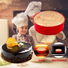 Round Shape Cake Silicone Mold Kitchen Bakeware Cake Tools DIY Desserts Sale