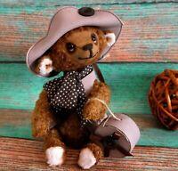 """OOAK Artist teddy bear  7"""""""