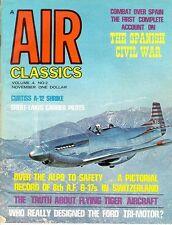 AIR CLASSICS V4 N2 WW2 MIGHTY 8th AF B-17 INTERNED SWITZERLAND_CURTIS A-12 SHRIK