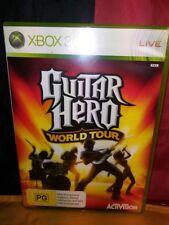 Guitar Hero: World Tour - Microsoft Xbox 360 - Includes Manual