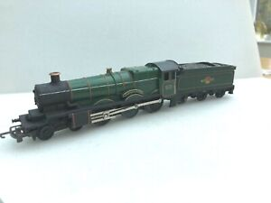 Tri-ang  TT T 91 / T 92  Castle class renamed Brass plates,unboxed.