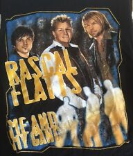 Rascal Flatts Vintage 2007 Me And My Gang Tour Medium Concert Country Music