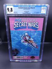 Deadpool's Secret Secret Wars #2 CGC 9.8 - Gwenpool Variant (Marvel 2015)
