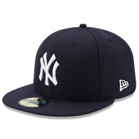 New York Yankees Game A/C On-Field New Era Navy 59FIFTY Fitted Hat