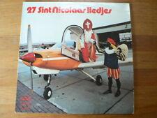 LP RECORD VINYL 27 SINT NICOLAAS LIEDJES DE ZONNEPITTEN BEAGLE AIRPLANE A