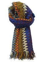 Sciarpa Missoni Stola Fantasia Made in Italy Donna 40X200 Cm multicolore MU67...