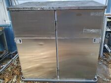 Stainless Steel Cateringholding Cabinet Adjustable Shelves Guarantee