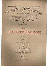 LA PETITE ILLUSTRATION N°183 LE PETIT PRINCE DE SYRIE - ROMAN DE M. HARRY 3