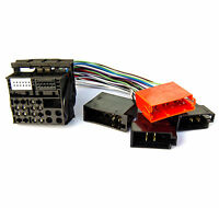Radio Adapter für Audi RNS-E Navi Radiokabel Quadlock ISO neu auf alt
