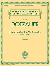 Exercises for the Violoncello Books 1 and 2 Schirmer's Library of Musi 050490032