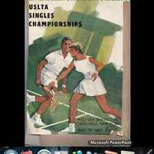 National Singles Championships Westside Tennis Club Forest Hills 1963 Clipping