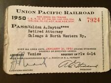 Collectible Railroad Passes & Tickets for sale   eBay