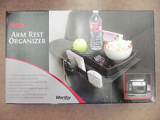 Worthy Arm Rest Organizer - Flat Top - 6 Side Pocket Pouches for Sofa - Loveseat
