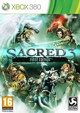 Xbox 360 Game Sacred 3 First Edition NEW