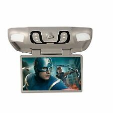 "Digital Car DVD Player Gray 15.6"" Roof Mount Flip Drop Down Overhead HD Games US"
